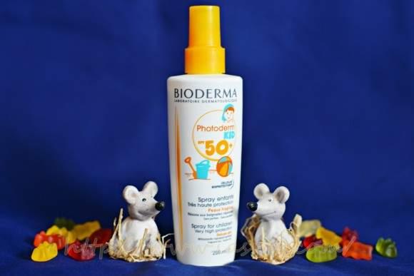 Protecție solară pentru bebeluși – Bioderma Photoderm Kid