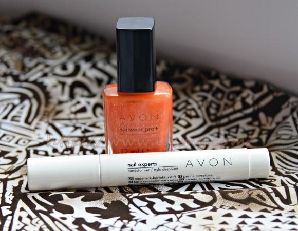 Creion corector pentru manichiura si Oja Mandarin Avon