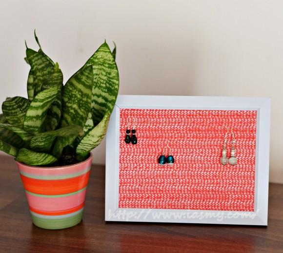 DIY-Suport ramă pentru cercei