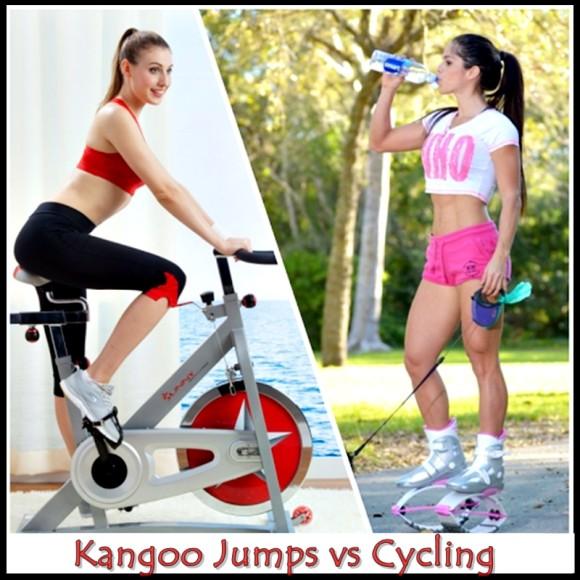 Kangoo Jumps vs Cycling