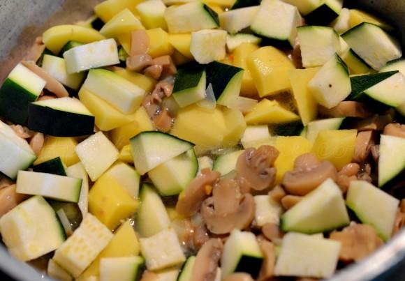 Ingrediente supa crema de zucchini