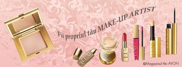 Eveniment: Fii propriul tău MAKE-UP ARTIST!