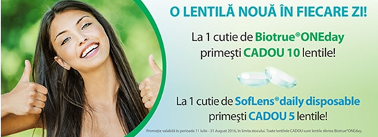 Conga.ro – Promoții lentile de contact