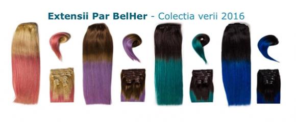 Extensii și peruci de păr natural BelHer